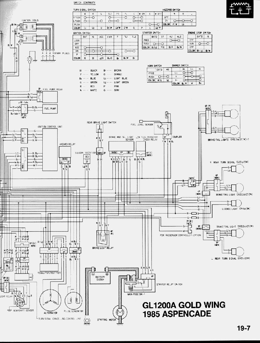 Voltage Regulator Rectifier 85 Gl1200a Steve Saunders Goldwing Forums