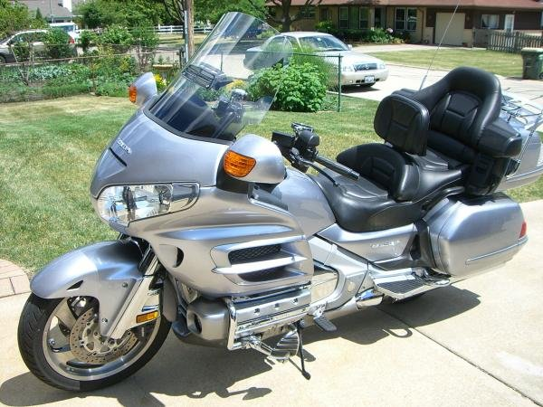 Showcase cover image for My 2009 GL1800 ABS Goldwing