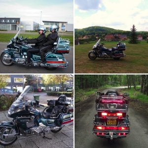 My Garage.   ( Photo's from my Goldwing )