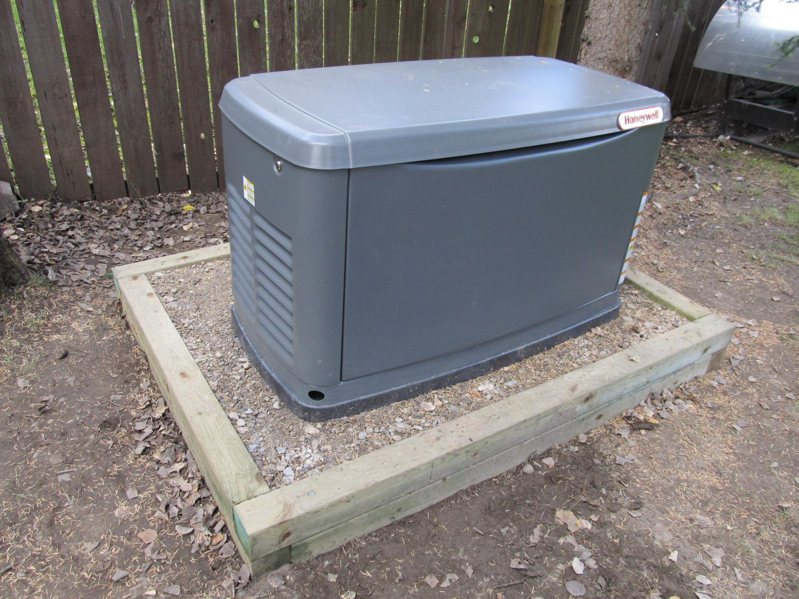 Installed a 17 KW Automatic Standby Generator Steve Saunders